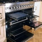 Britannia Range that has been professionally cleaned